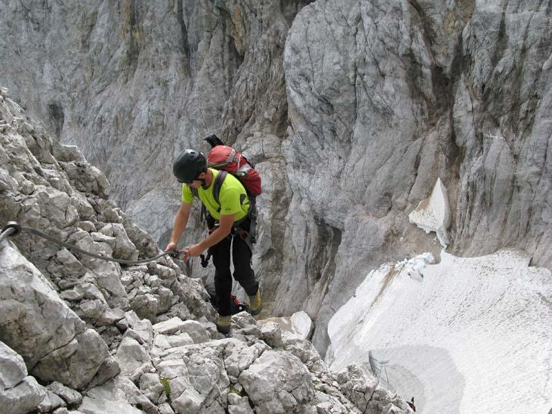 Klettersteigset Ausleihen Garmisch : Freeride bergführer profis der alpinschule garmisch