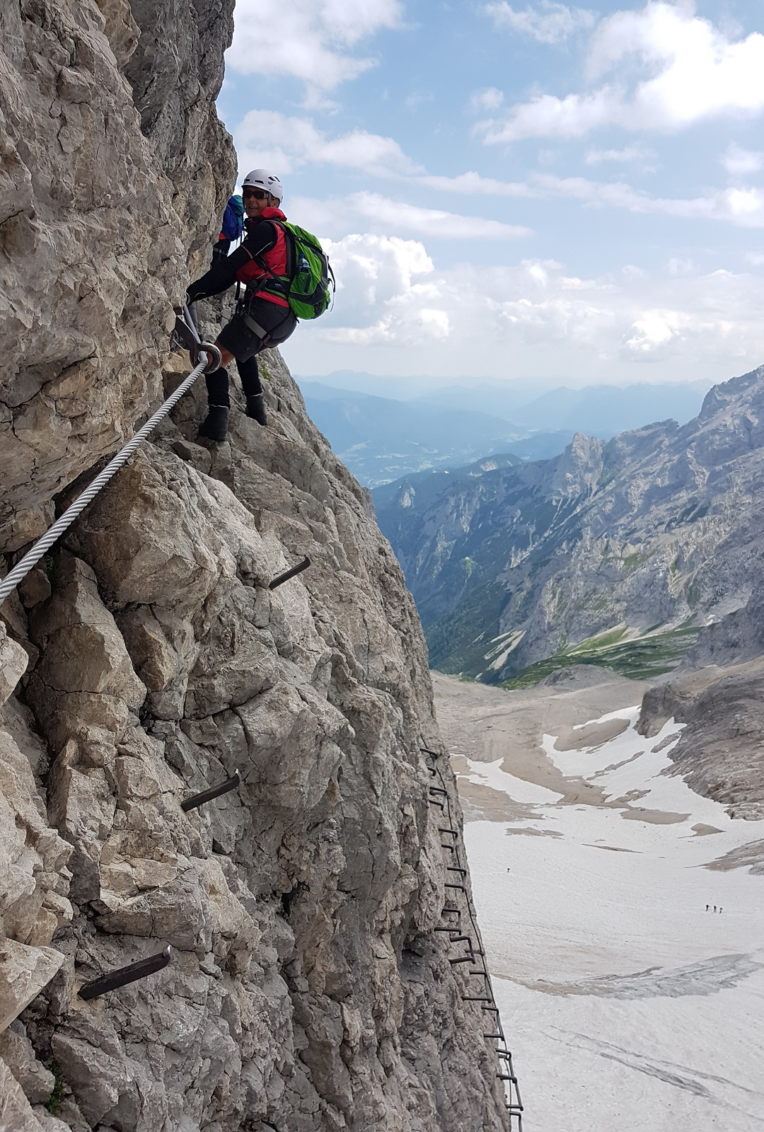 Zugspitze über das Höllental mit Bergführer