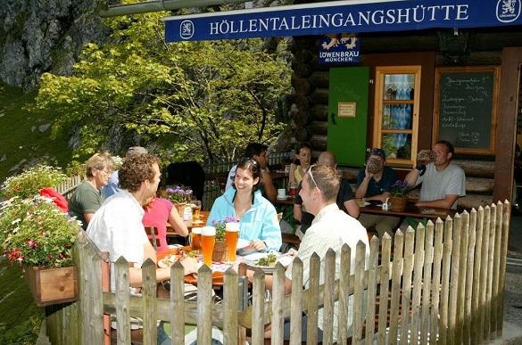 Höllentaleingangshütte - Mit Bergführer auf die Zugspitze